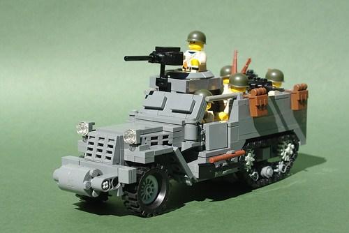 LEGO M3A1 Half-Track