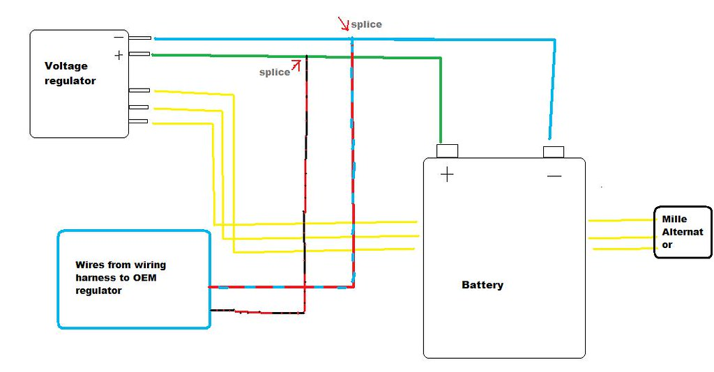 4 wire regulator diagram