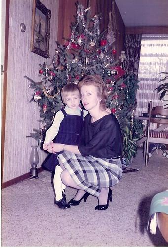 Samen met mam...