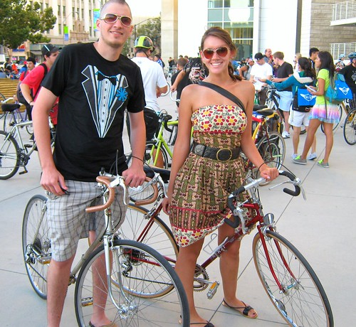 San Jose Bike Party August 2010