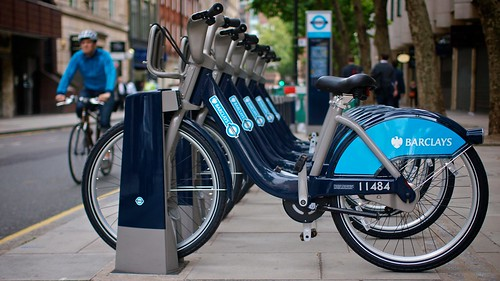 Guess Where Boris Bikes