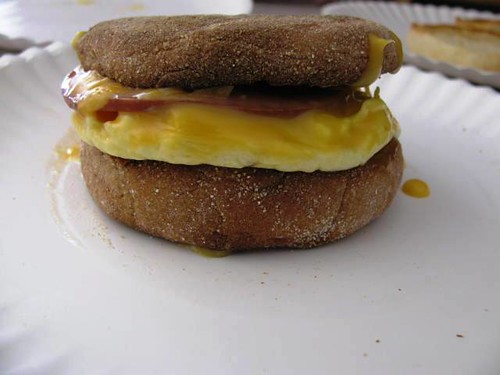 Home-made McMuffins!