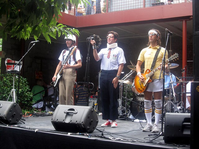 the spazmatics at the killer tomato festival