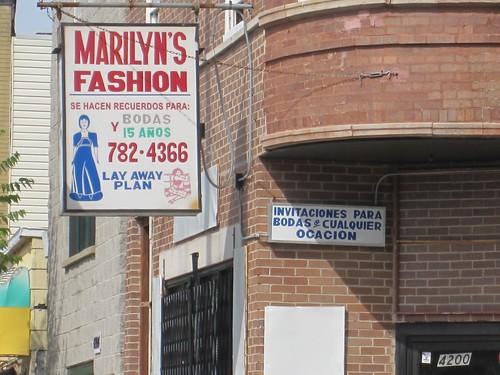 Marilyn Fashion, 4200 West Armitage: Regional Bike Ride Chicago