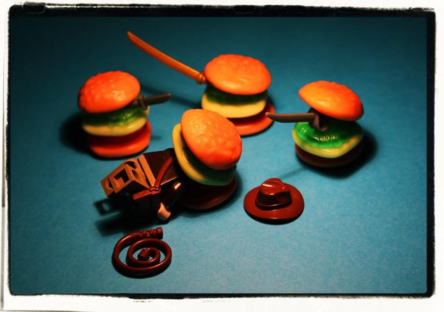 Indiana Jones and the Carnivorous Hamburgers
