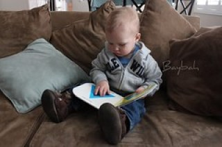 Reading Toddler