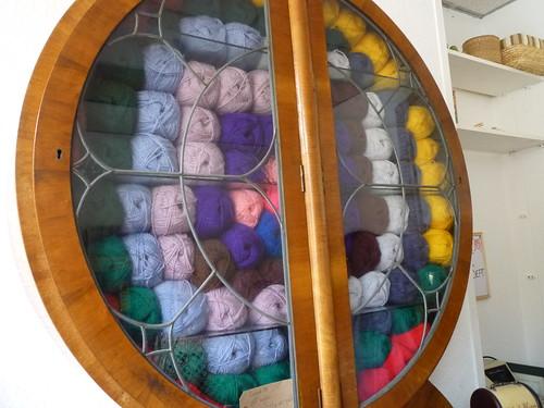 The yarn cupboard