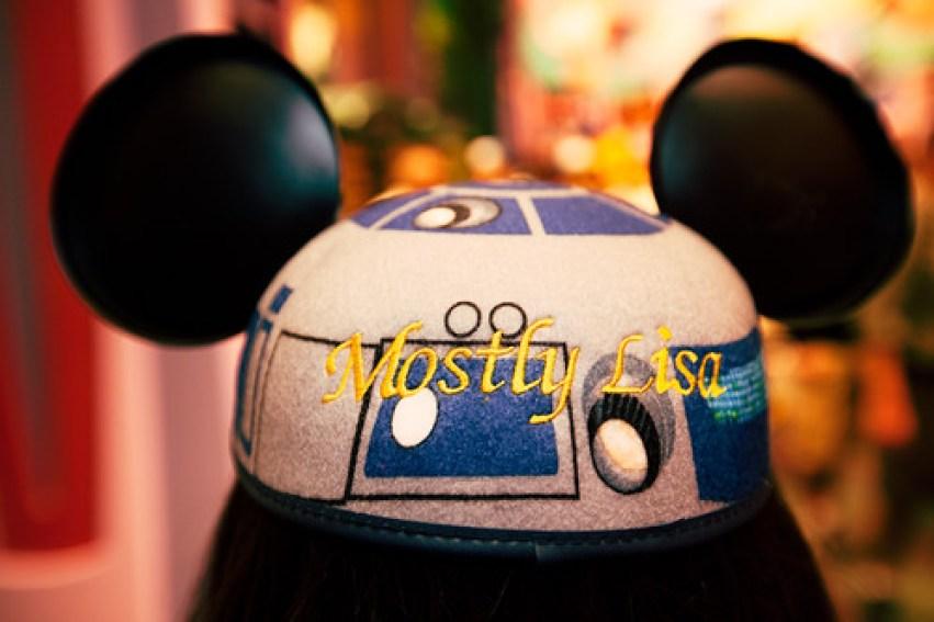MostlyLisa's R2D2 Mickey Ears