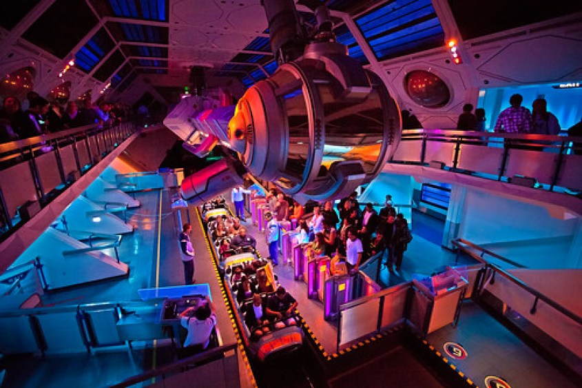 Space Mountain, Disneyland
