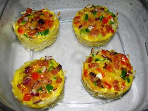 Light Breakfast Ham & Egg Muffins
