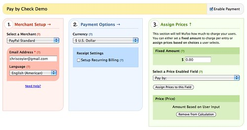 Adding a Pay by Check Option to Payment Enabled Forms Wufoo