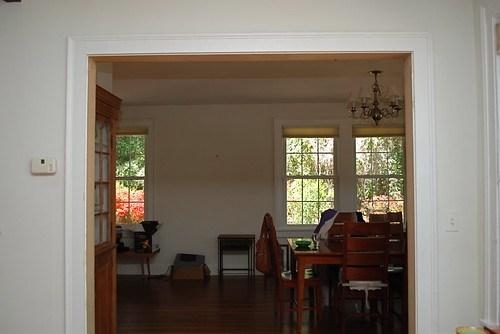 pine doors removed