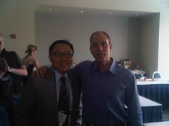 Awesome #wpc10 lunch w/ @jon_roskill