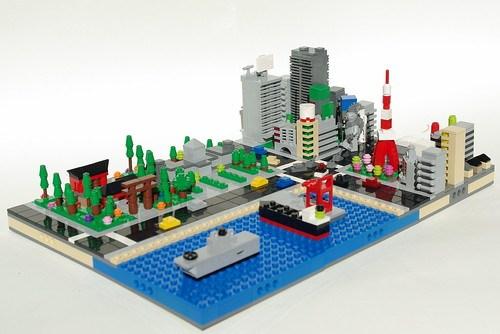 Micro LEGO Tokyo