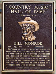 Bill Monroe, Country Music Hall of Fame