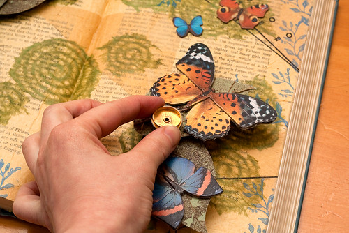 Altered book - movable parts book-6