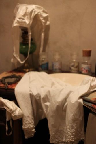 The ladies bathroom at Le Garet, Lyon