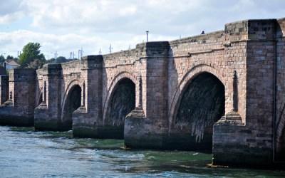 Stuart's Photography - » Desktop Wallpaper: Old Bridge, Berwick upon Tweed