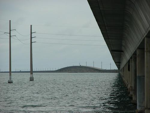 view of the 7-mile bridge