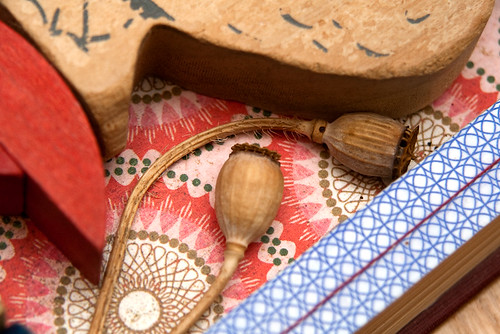 Altered Book: Gifts of the Goose - detail
