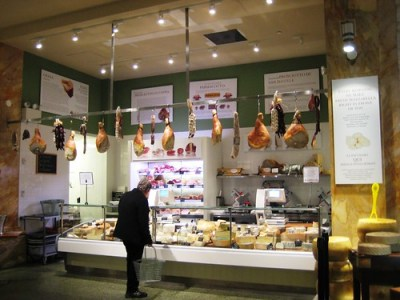 Eataly NYC - Cheese and Meat Deli, Oct. 5, 2010