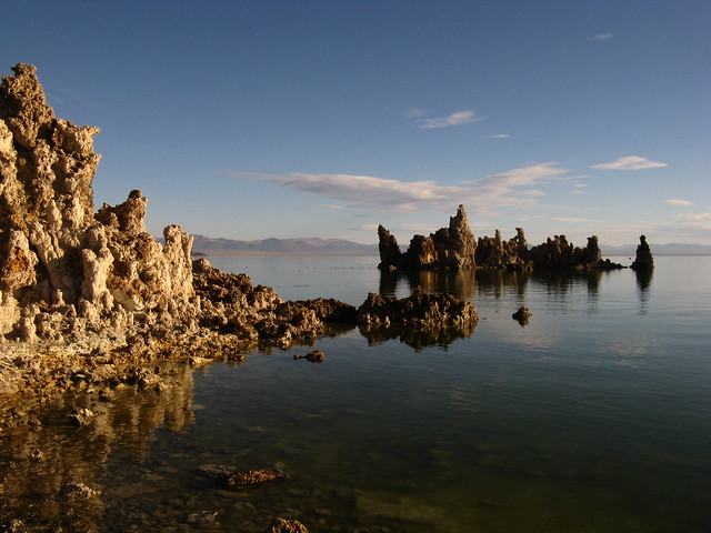 Tufas, Mono Lake, California
