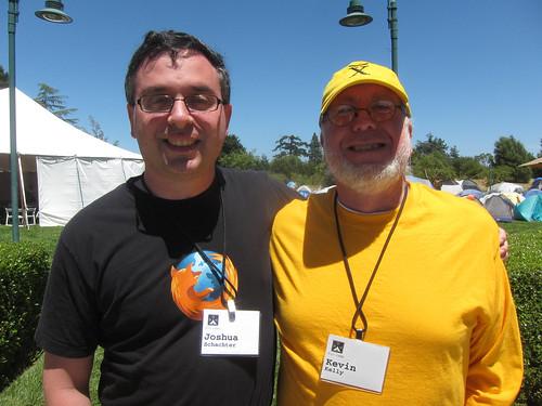 Joshua Schachter & Kevin Kelly