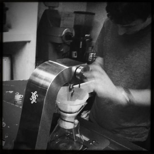 Colin brewing