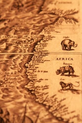 Harvard map africa