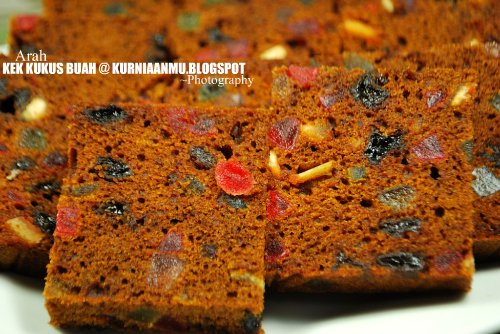 Resepi Kek White Chocolate Macadamia
