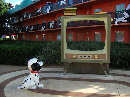 101 Dalmatians Section of Disney's All-Star Movies Resort