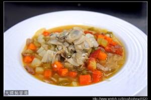 [西餐]湯類 曼哈頓蛤蜊巧達湯