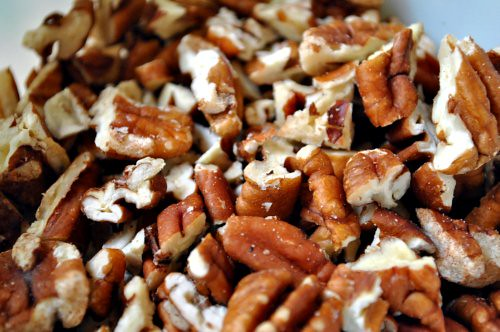 Zucchini Pecan Cake