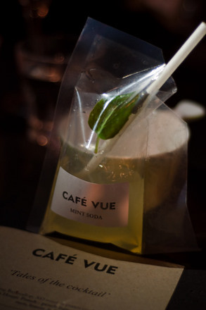 Cafe Vue cocktail night