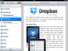 Dropbox bekijken