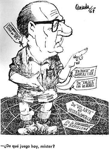 Caricatura de Manuel Aznar