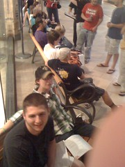 ... And these people are all behind me in line to get an iPhone 4... #1 is awesome!!
