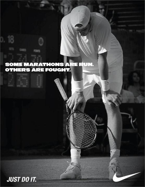 John Isner - Nike ad