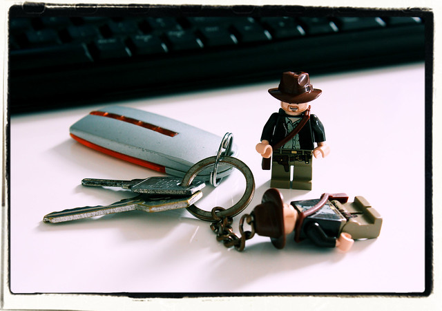 Indiana Jones and the Key Chain Clone