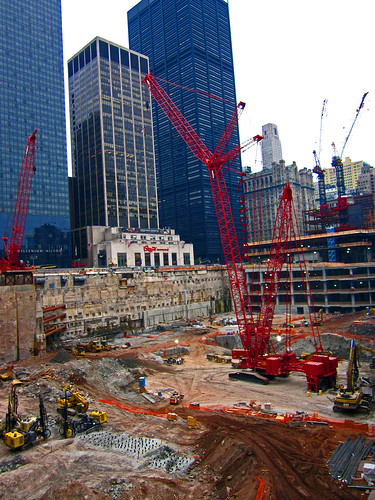 WTC Transit Hub Construction