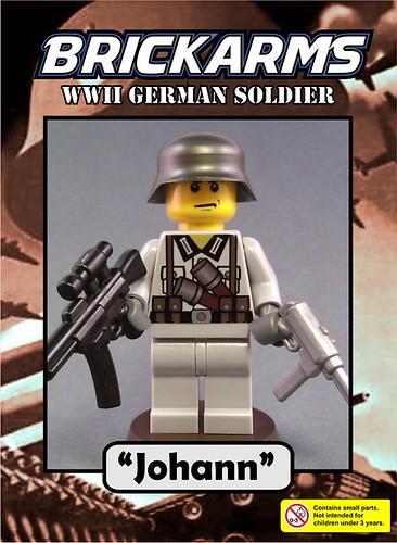 """BrickArms 2010 Minifig - """"Johann"""""""