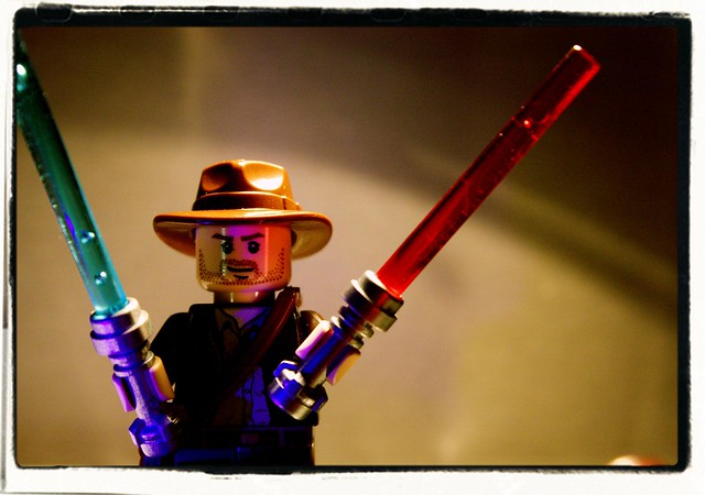 Indiana Jones and the Elegant Weapons from a More Civilized Age