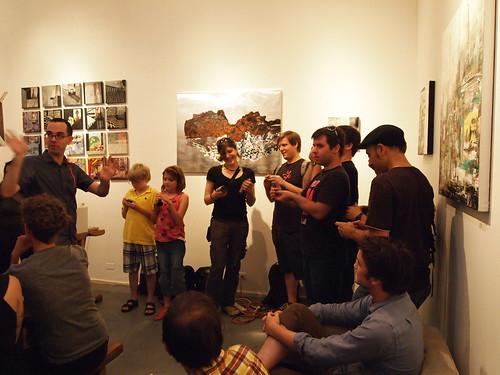 Handmade Music: Phototheremin chorus performs