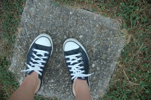 Painted Converse