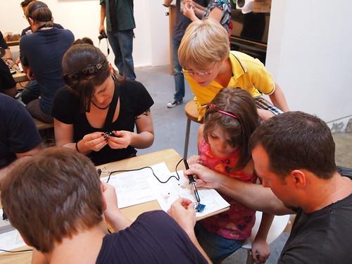 Handmade Music: Phototheremin workshop