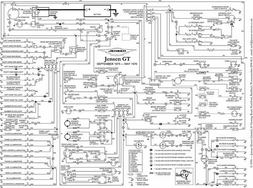 Jensen GT Wiring Diagram - a photo on Flickriver