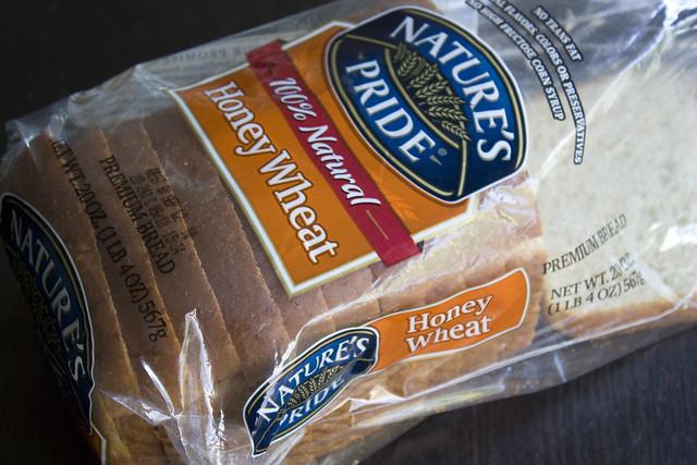 Nature's Pride Honey Wheat Bread