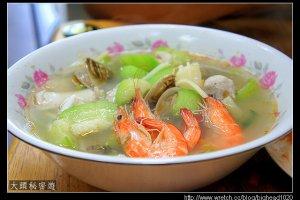 [高雄]左營  黃家海鮮粥.瓜仔肉飯