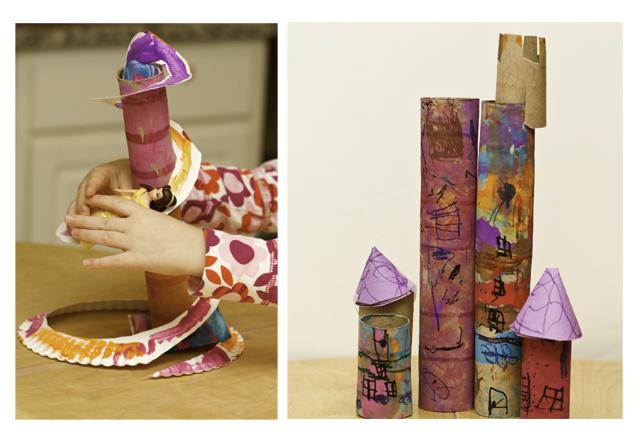 DIY Doll Slides and Castles