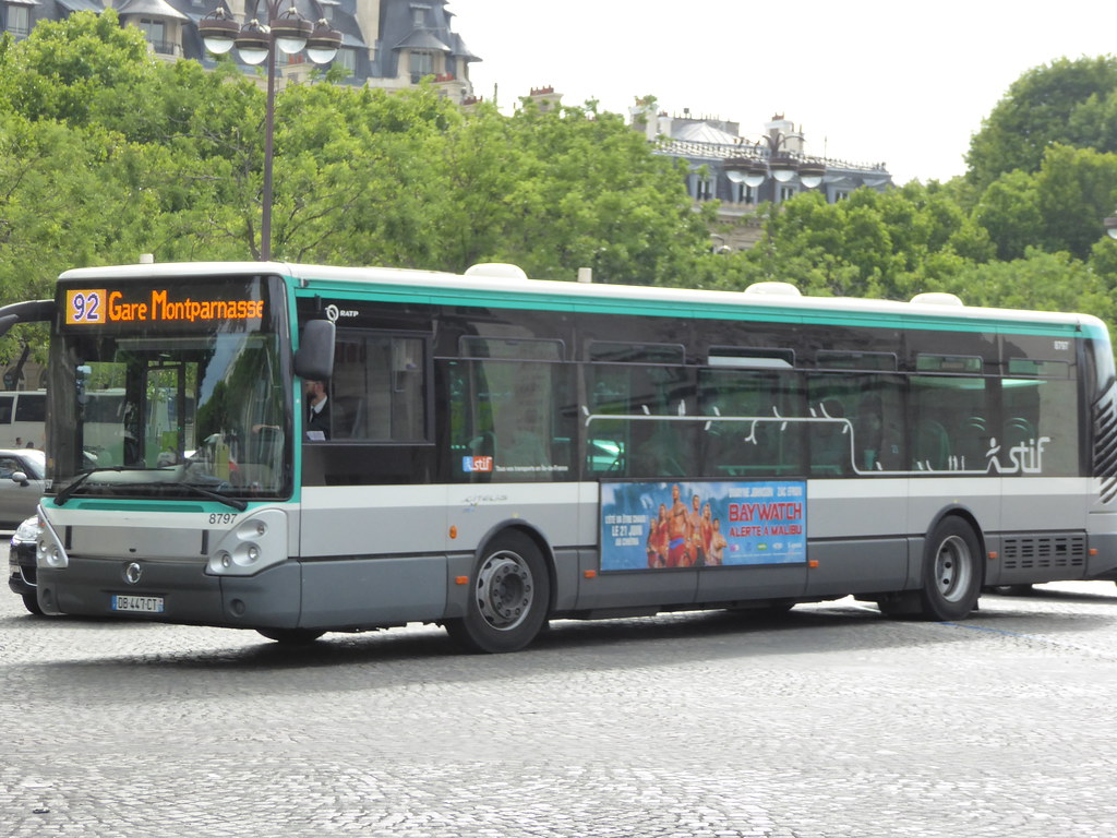 Bus 92 Paris The World S Most Recently Posted Photos Of 92 And Ratp Flickr
